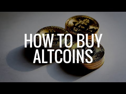How To Buy Altcoins On Binance