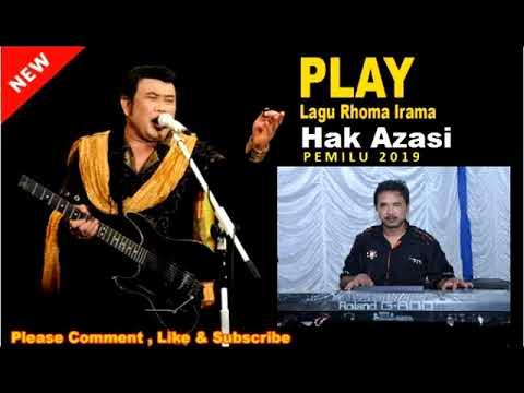 Hak Azasi - Rhoma Irama ( Prabowo - Sandy )