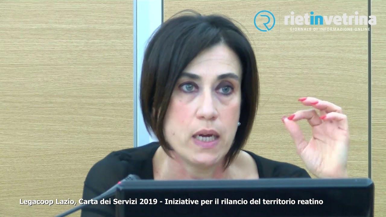 Legacoop Lazio Carta dei Servizi 2019 di donato - YouTube