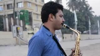 Aa Jaane Jaa.. Alto Saxophone..Karaoke Karaoke   - The Golden Notes