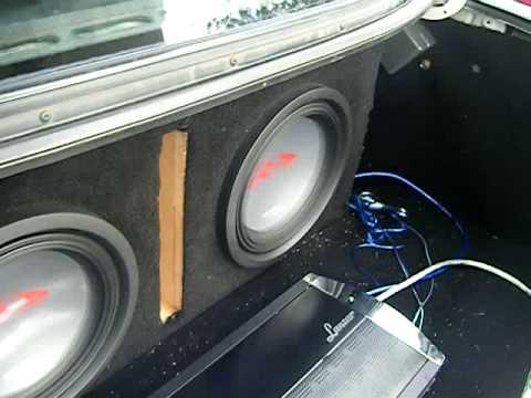 Alpine Type-R Bass Test - Bass, Can U Hear Me