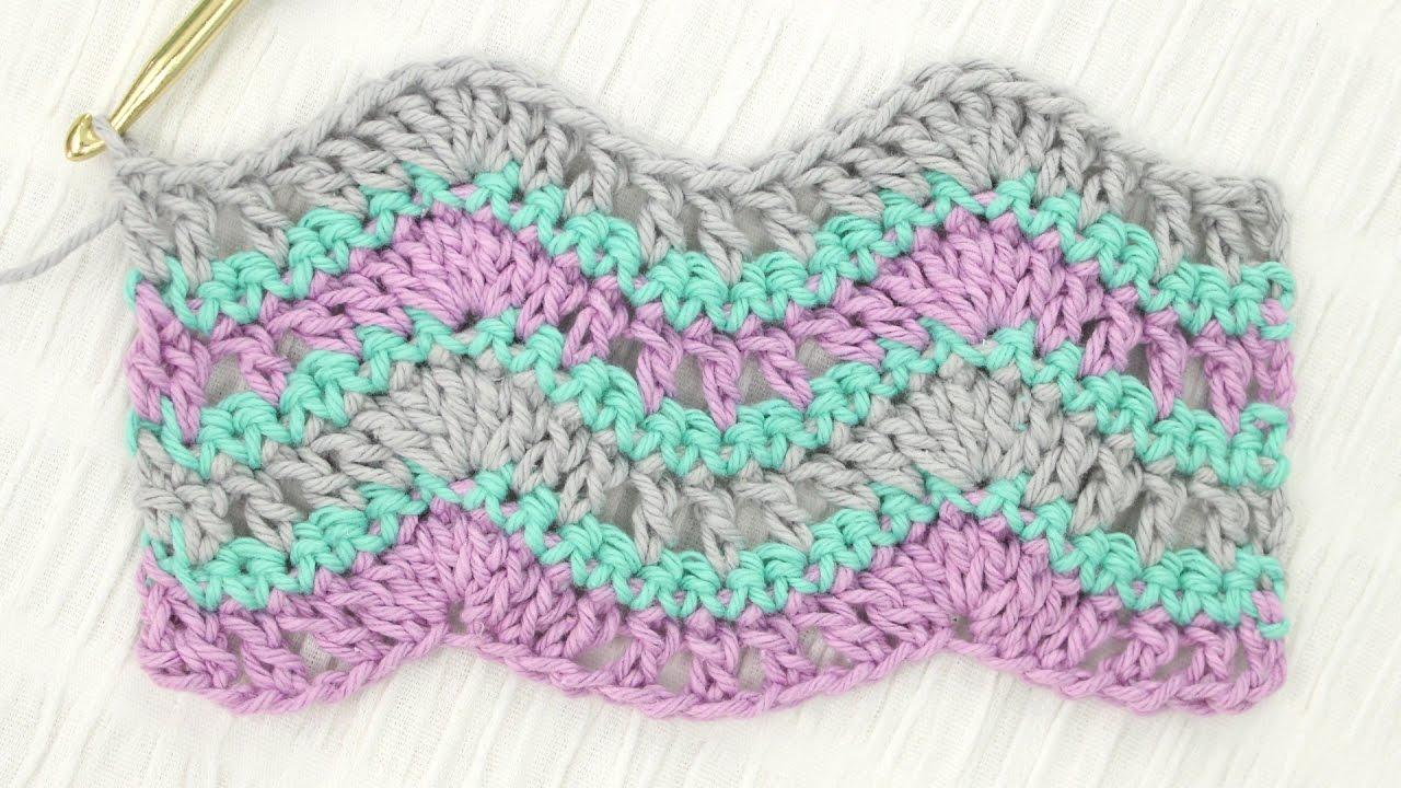 Crochet Wave Pattern New Inspiration