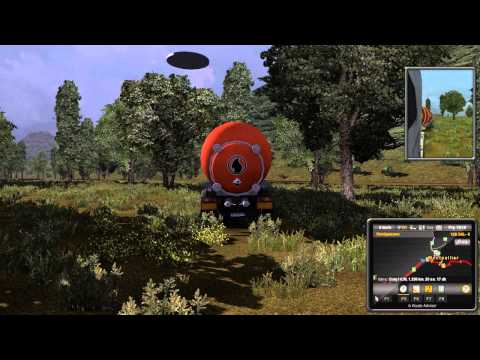 Euro Truck Simulator 2 Ufo & Alien!