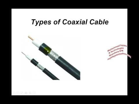 coaxial cable for 1st year