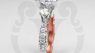 Engagement Rings by Verragio: Parisian-124P