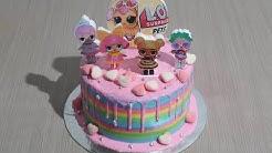 Cara Menggambar Mewarnai Kue Ulang Tahun Untuk Anak Anak