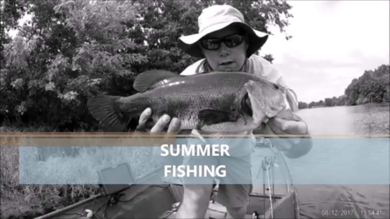 Summer fishing lake kinkaid youtube for Kinkaid lake fishing report