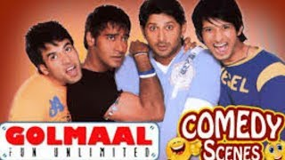 Golmaal  : Fun Unlimited || comedy scenes || Clip-1 ||