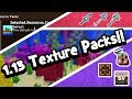 Minecraft 1.13 Texture Pack | Top 3 Resoure Packs For The Aquatic Update!