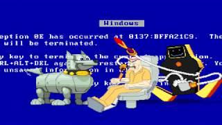BTW MUGEN - Sentro vs. Jailbot