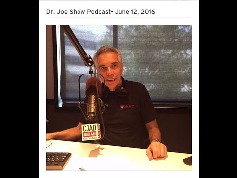 Dr Joe Schwarcz interviews Phil Rice on CJAD-AM 800 (Montreal)
