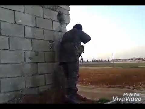 الشهيد أبو راكان الحموي والشيخ أحمد الريمه  معارك تل رفعت ضد الحزب