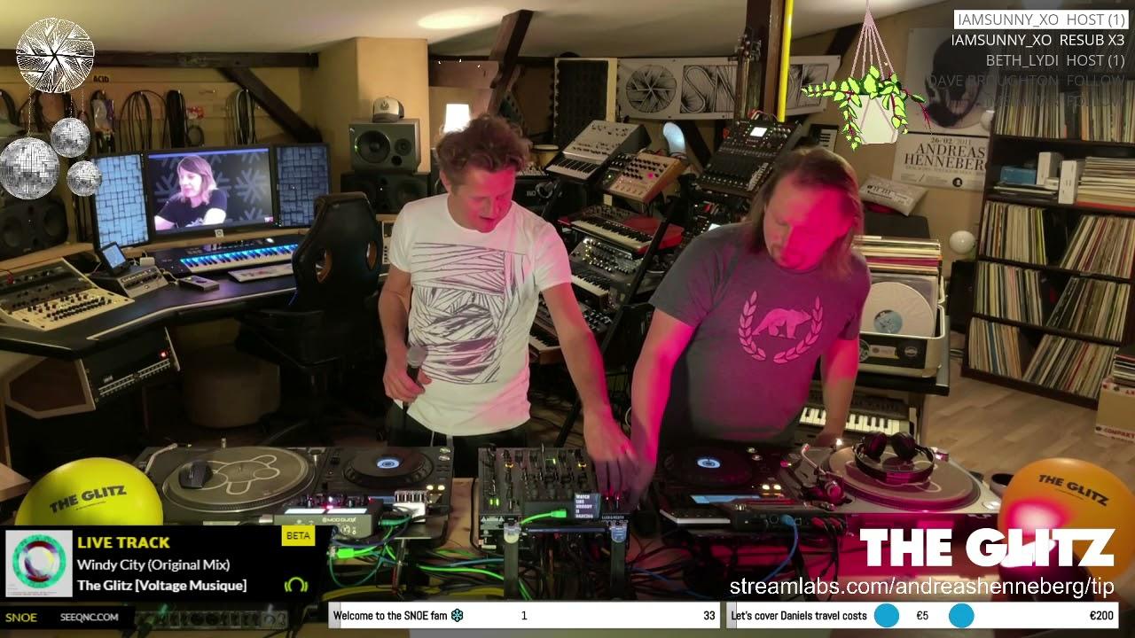 Download THE GLITZ pres. The Glitz - Live from the SNOE headquarter in Berlin / Germany