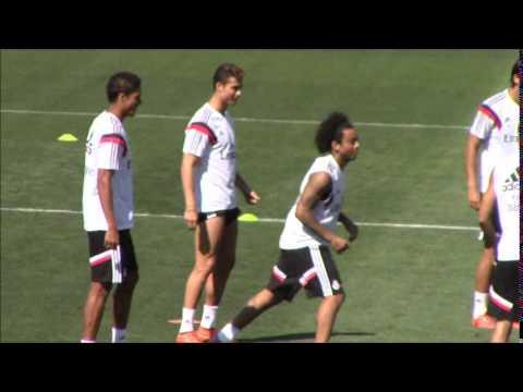 Cristiano Ronaldo se entrena y apunta al Atlético