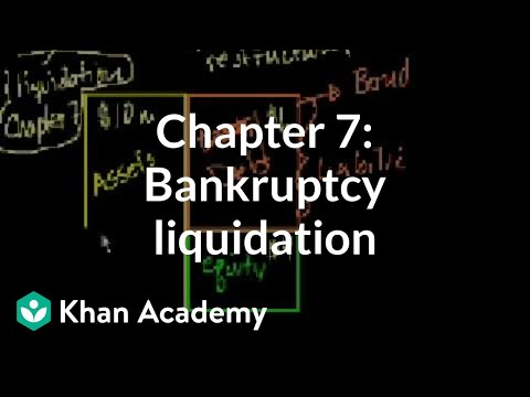 Chapter 7: Bankruptcy liquidation | Stocks and bonds | Finan