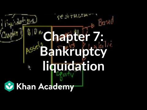 Chapter 7: Bankruptcy Liquidation   Stocks And Bonds   Finance & Capital Markets   Khan Academy