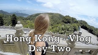 Hong Kong - Vlog Day Two - Cable Car, Big Buddha, Tai O Village, Victoria Peak