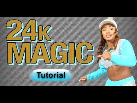 Bruno Mars - 24K Magic - Dance Tutorial...