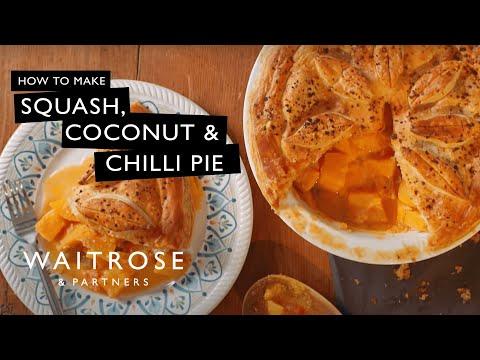 Squash, Coconut And Chilli Pie   Waitrose