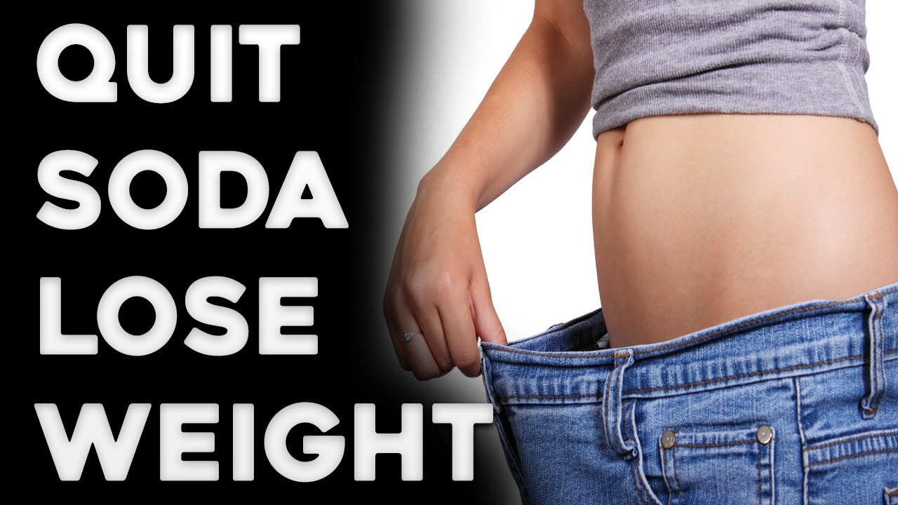 Can you lose weight by giving up diet coke
