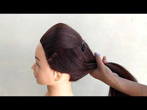 Easy Puff With Ponytail Hairstyle || Hairstyle For Collage Girls || Everyday Hairstyles For Girls thumbnail