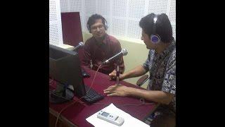 rishi bastakoti at samaya samiksha program of nepal fm network