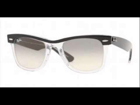 Ray Ban Wayfarer Top Black On Transparent RB 2143 919 32 Sunglasses ...