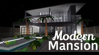 Roblox Bloxburg: || Modern Mansion Remake Tour|| Read Description