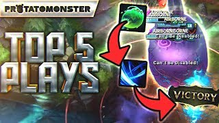 100% deletion in under 10 seconds | league of legends top 5 plays