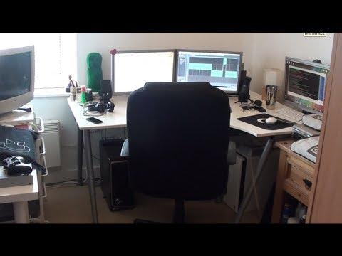 Gaming Room Tour / Computer Set-Up 2013