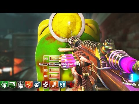 INSANE BLACK OPS 3 CUSTOM ZOMBIES MAP - BANANA COLADA PERK & EASTER EGGS! (BO3 Zombies Gameplay)
