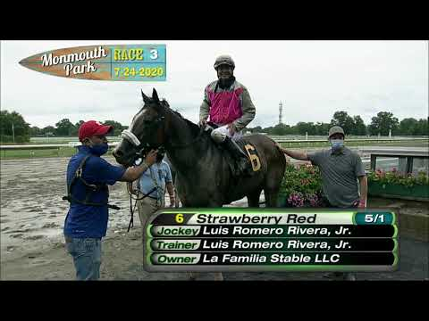 video thumbnail for MONMOUTH PARK 07-24-20 RACE 3