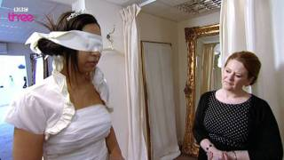Lucy's Dress Reveal - Don't Tell the Bride - Episode 4 - BBC Three