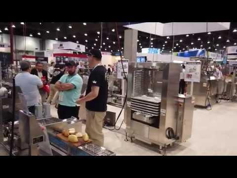 International Baking Industry Exposition (IBIE) 2019 baking industry: Unifiller, Rheon
