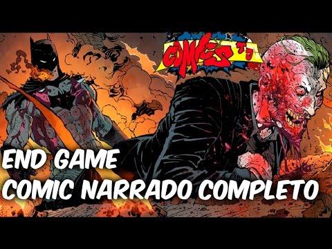 La Batalla final de batman y el joker, Batman End Game Comic Narrado Completo @Comic Tj
