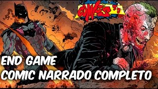 La Batalla final de batman y el joker, Batman End Game Comic Narrado Completo @SoyComicsTj
