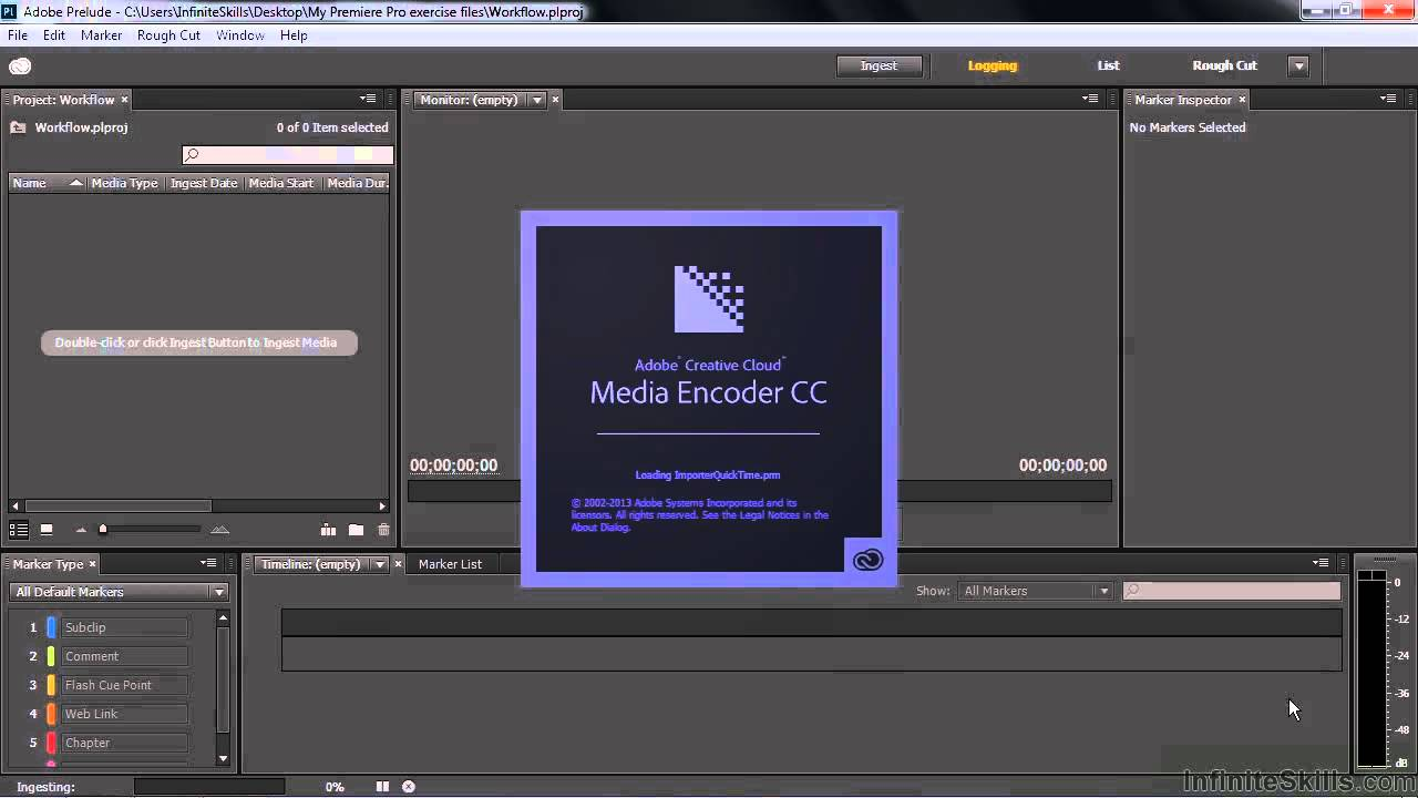 Adobe Premiere Pro CC Tutorial | Using Adobe Prelude In The Production Workflow