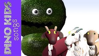 The 3 Billy Goats Gruff 3D Animated Childrens Story | Dino Kids Songs