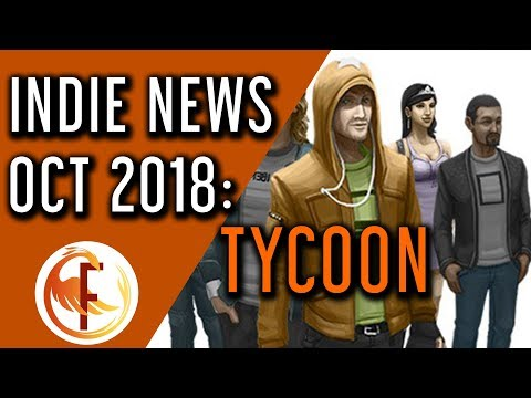 Best Upcoming Tycoon and Business Management Games - Indie Game News October 2018