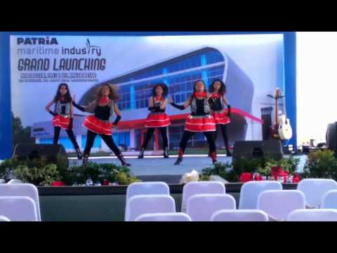 XyZ dancer Talent Grand Louching PT  Partia Maritime Industry on Tabunganen