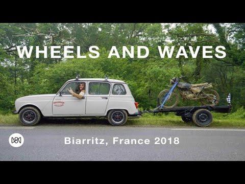 wheels and waves festival biarritz france 2018 youtube. Black Bedroom Furniture Sets. Home Design Ideas