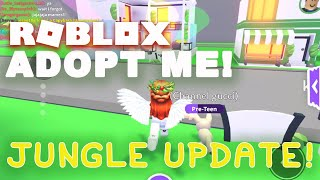 Adopt Me NEW JUNGLE UPDATE! Roblox ADOPT ME PETS