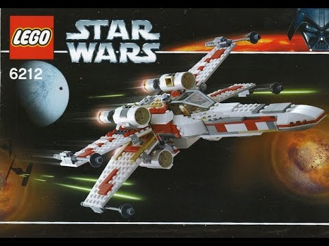 Lego 6212 6212 Star Wars X Wing Fighter Instruction Manual Youtube