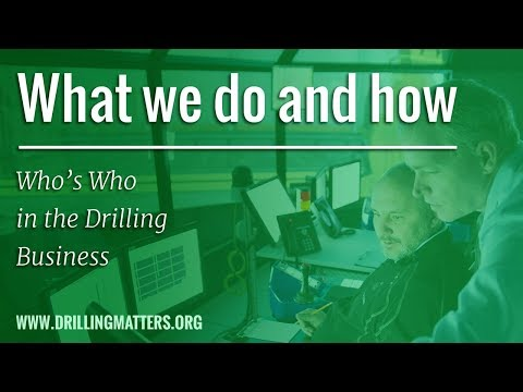 Whos Who in the Drilling Business