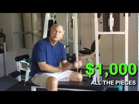 Pacific Fitness Multi-Station Weight Machine