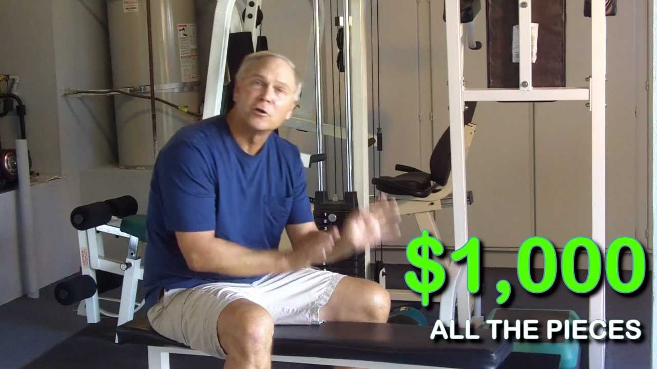 Pacific Fitness Multi Station Weight Machine Youtube