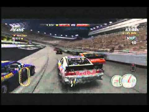 nascar 2011 the game big crashes youtube