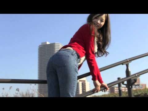 美女暦11年1月号『理想美』美女特集(清田さん)-美ヒップ