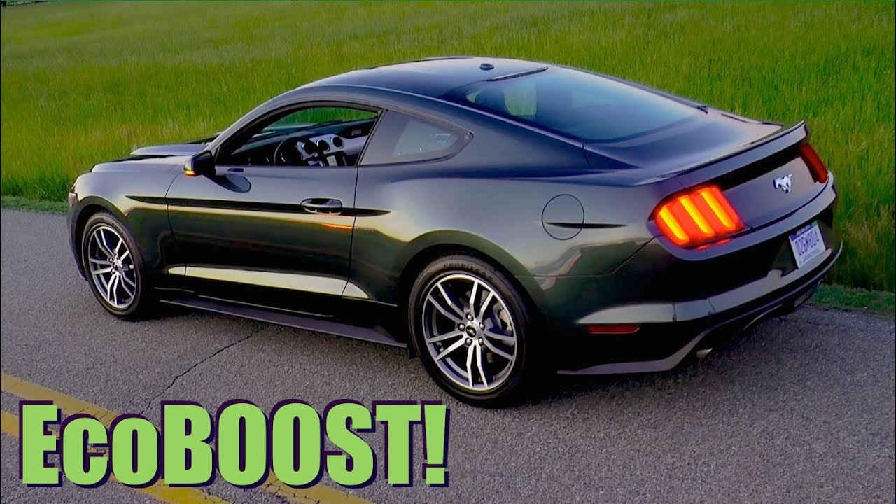 2015 ford mustang ecoboost 0 60 mph review highway mp doovi. Black Bedroom Furniture Sets. Home Design Ideas