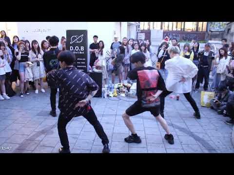 [찍캠/Fancam] 190516 디오비 DOB 홍대 버스킹 - EXO 엑소 Love Shot